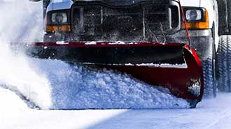 UHMW is the perfect solution for snow plow edges.
