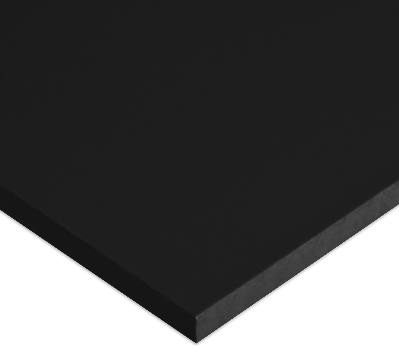 "Pack Of 2 Black Marine Board HDPE Polyethylene Plastic Sheet 1//4/"" x 36/"" x 24/"""