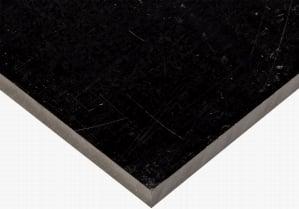 ABS SHEET - BLACK MACHINE GRADE