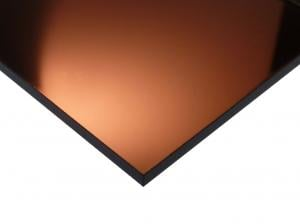 Acrylic Mirror Sheet Bronze