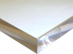 ACRYLIC SHEET - UV/ANTI-GLARE CLEAR OP-3/P99 FRAMING GRADE PAPER MASKED