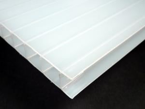 Polycarbonate Twinwall - Ice (Opal)