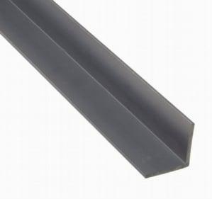 """PVC Gray Angle 2x2""""x.125"""""""""""