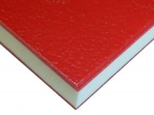 HDPE COLORCORE - RED/WHITE/RED