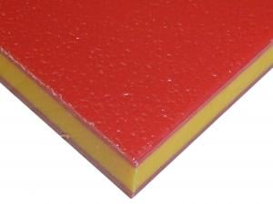 HDPE COLORCORE<SUP>&REG;</SUP> - RED/YELLOW/RED