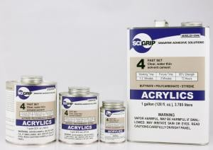 SciGrip Weld-On 4 Assembly Adhesive