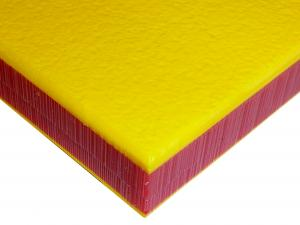 HDPE COLORCORE<SUP>&REG;</SUP> - YELLOW/RED/YELLOW